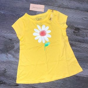 NWT! First Impressions Yellow Daisy T-Shirt 2T